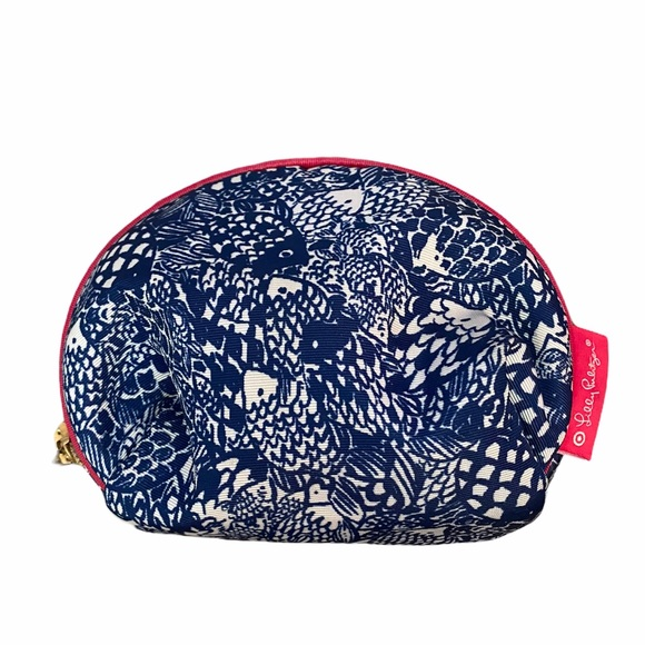 Lilly Pulitzer for Target Fish print  Makeup Bag